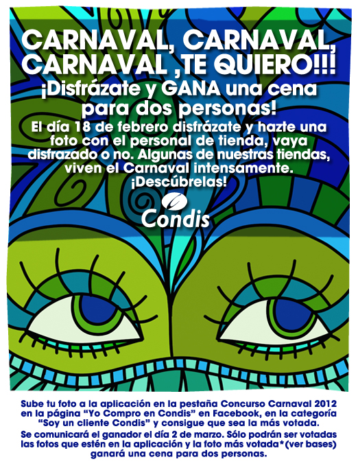 Carnaval en Condis - Promoción