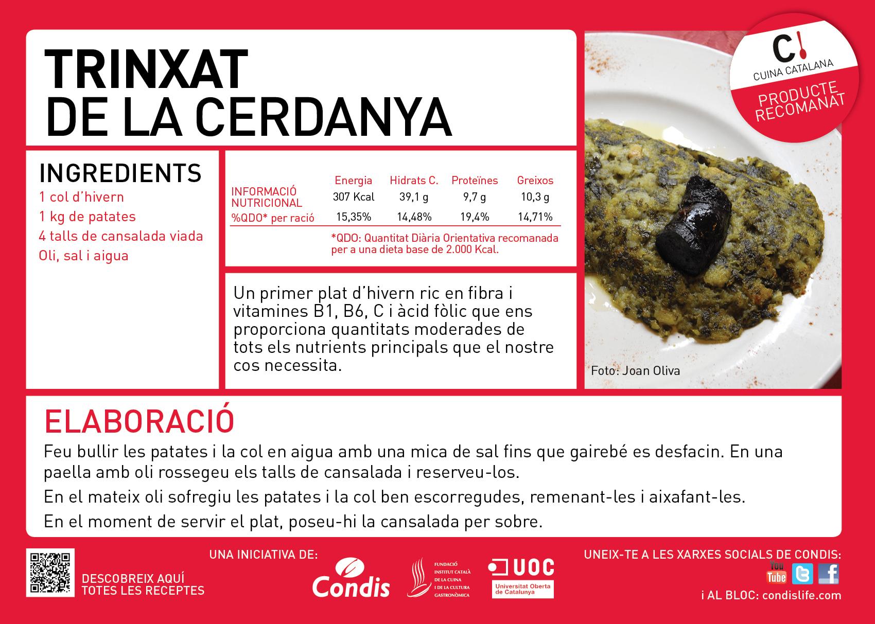 receptes de gener per participar al concurs de cuina