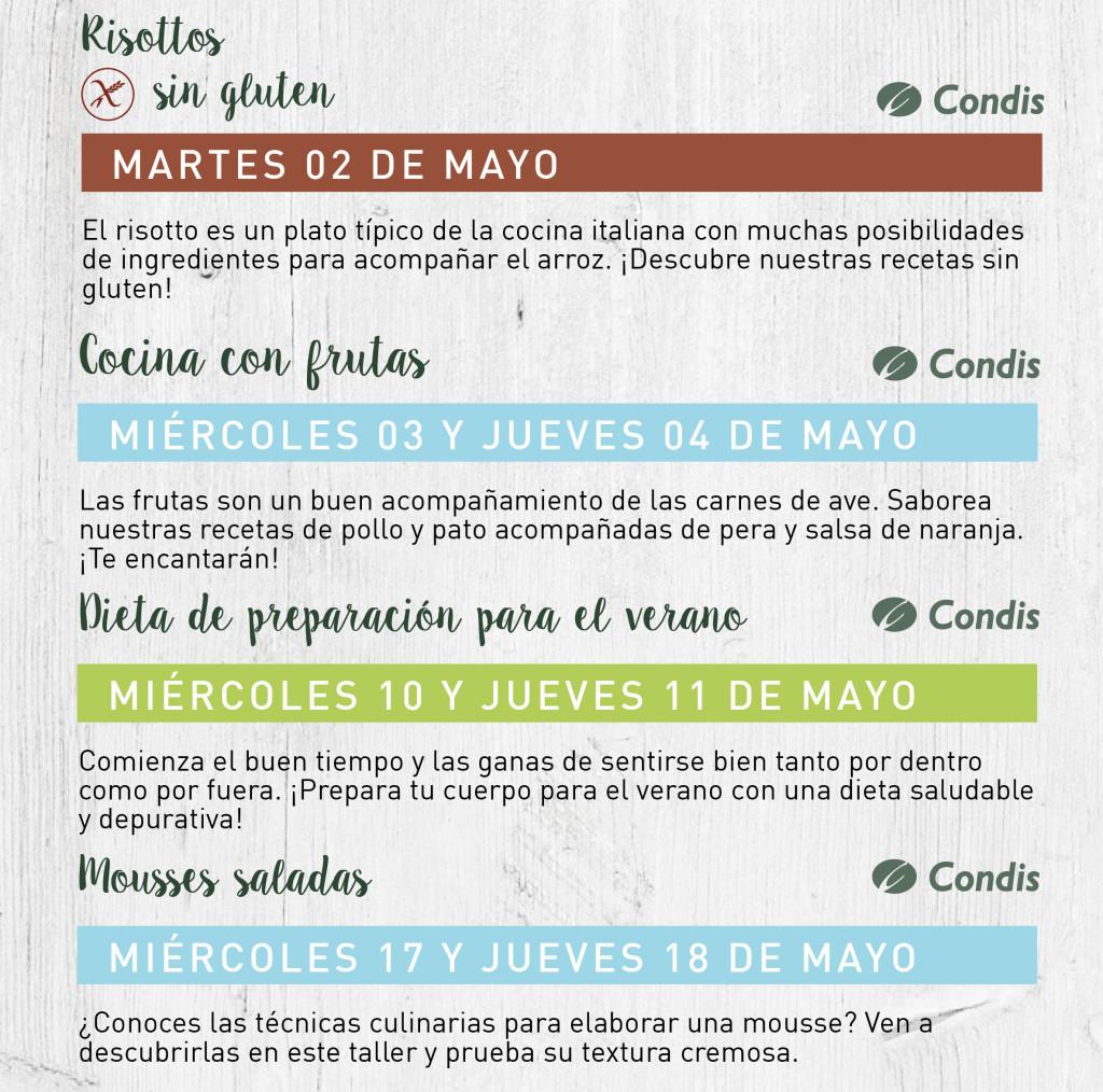 talleres mayo 2