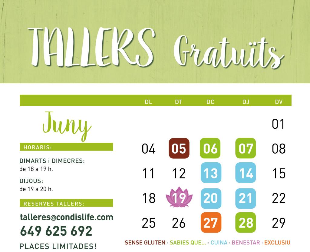 tallers juny 1