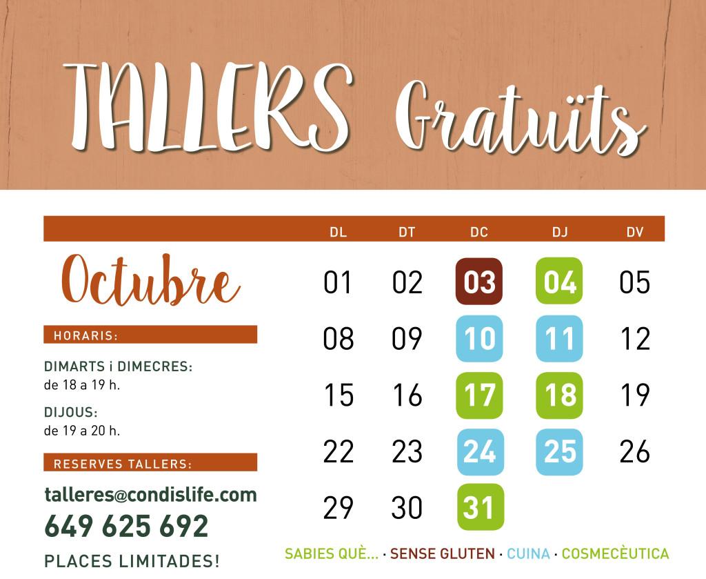 tallers octubre 2018-1