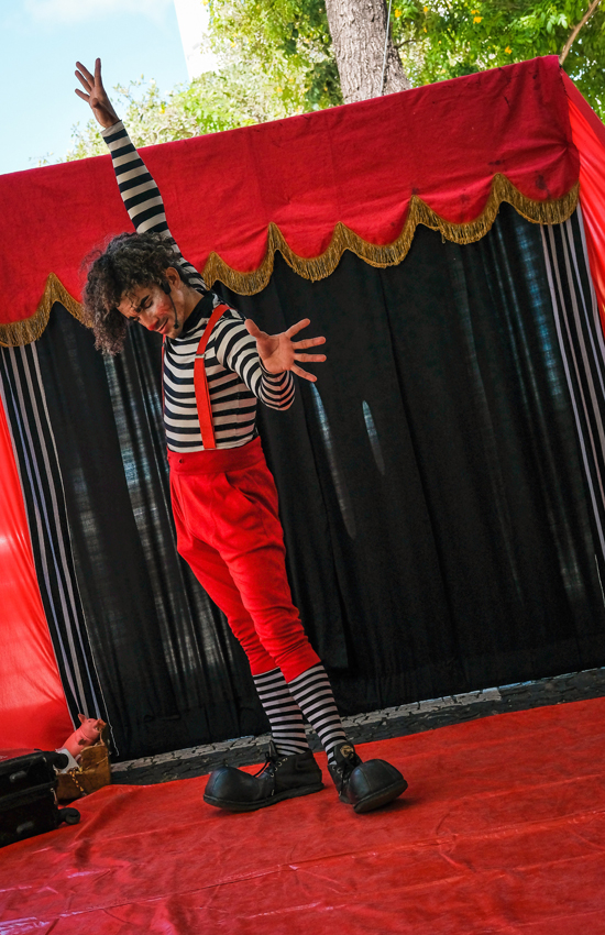 circo castillo de montjuïc