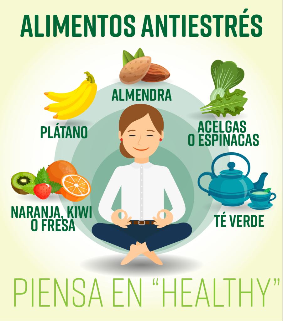 alimentos antiestrés