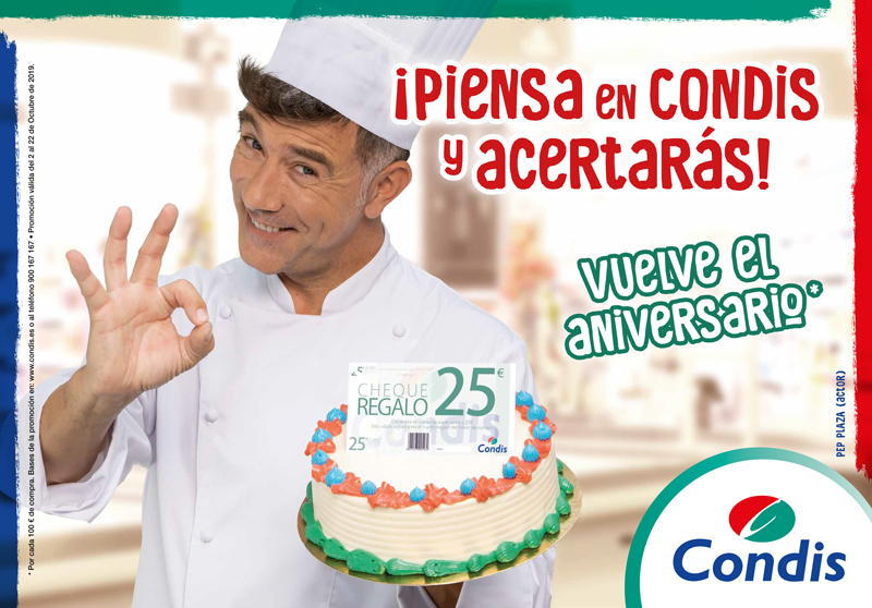 Aniversario Condis con Pep Plaza
