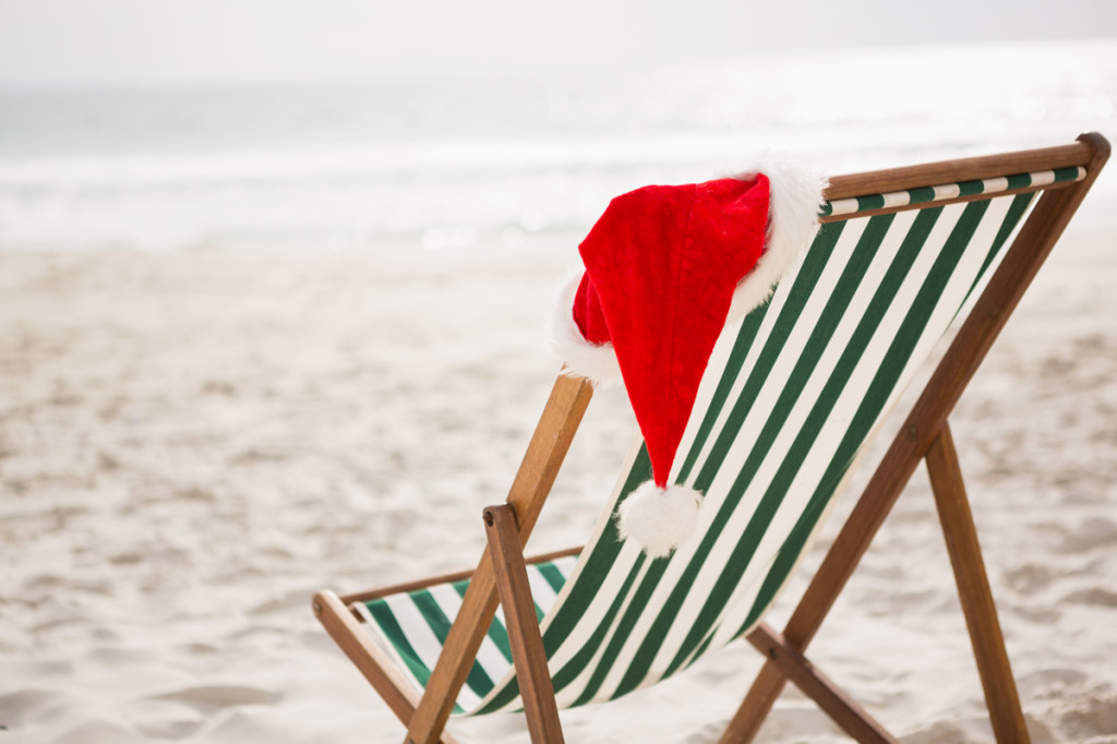 Navidad en Australia en la playa