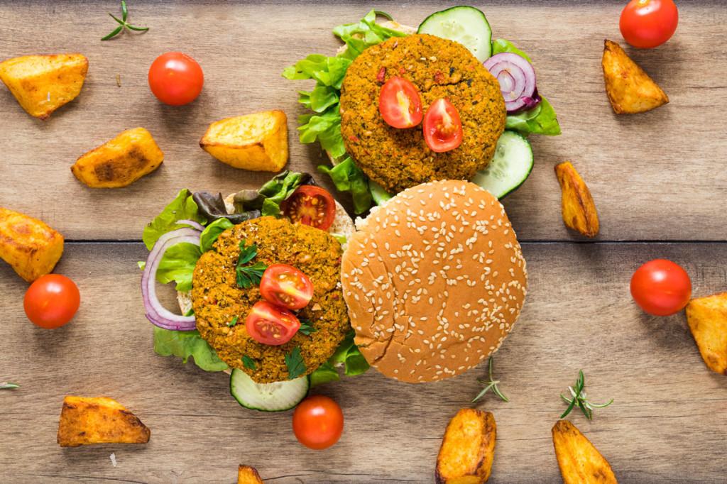 tendencia 2020 hamburguesa vegana