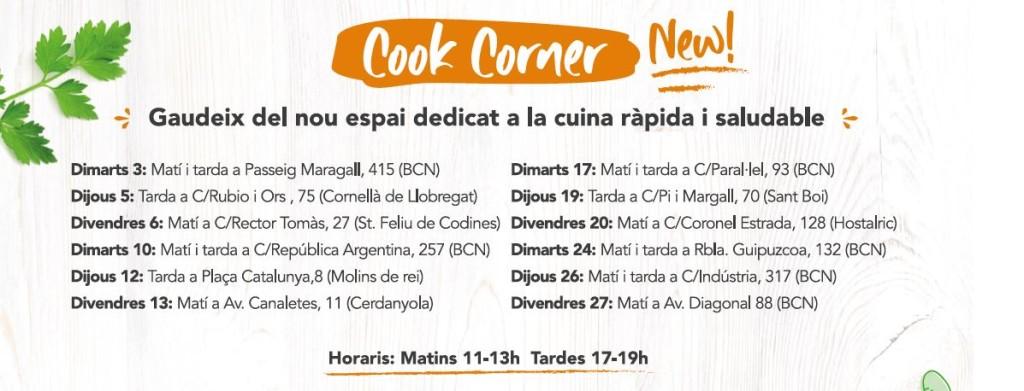 calendario cook corner mensual