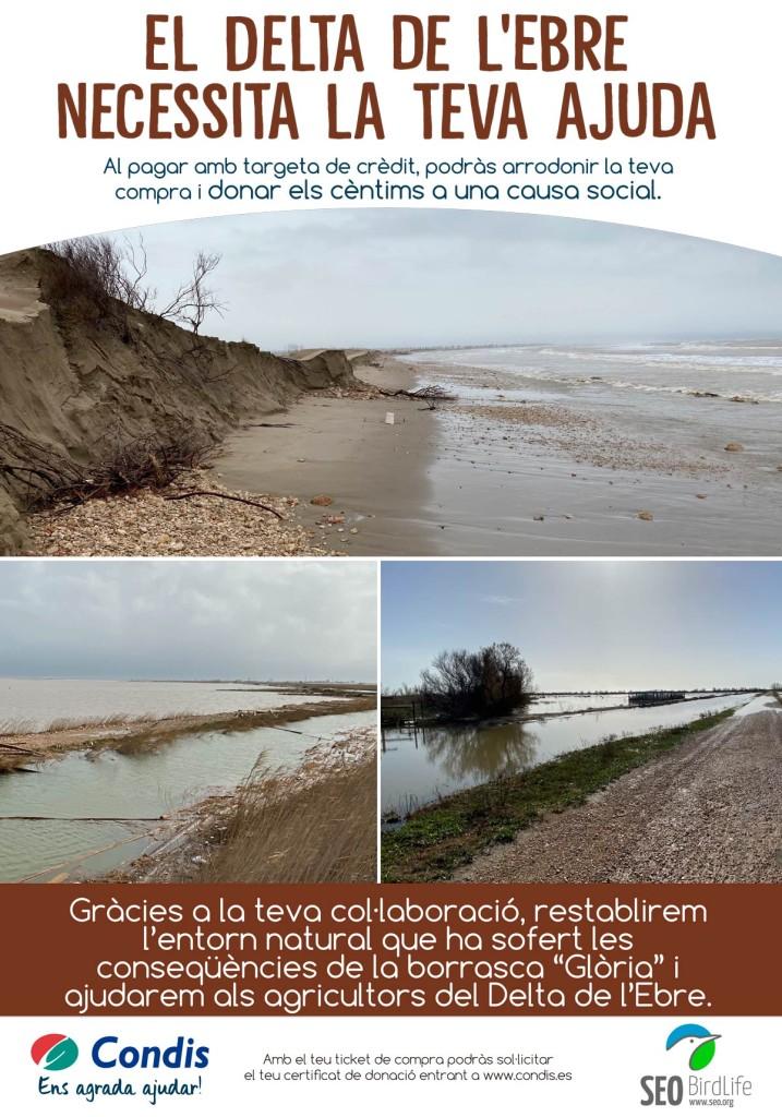 Redondeo Solidario Condis Delta del Ebro