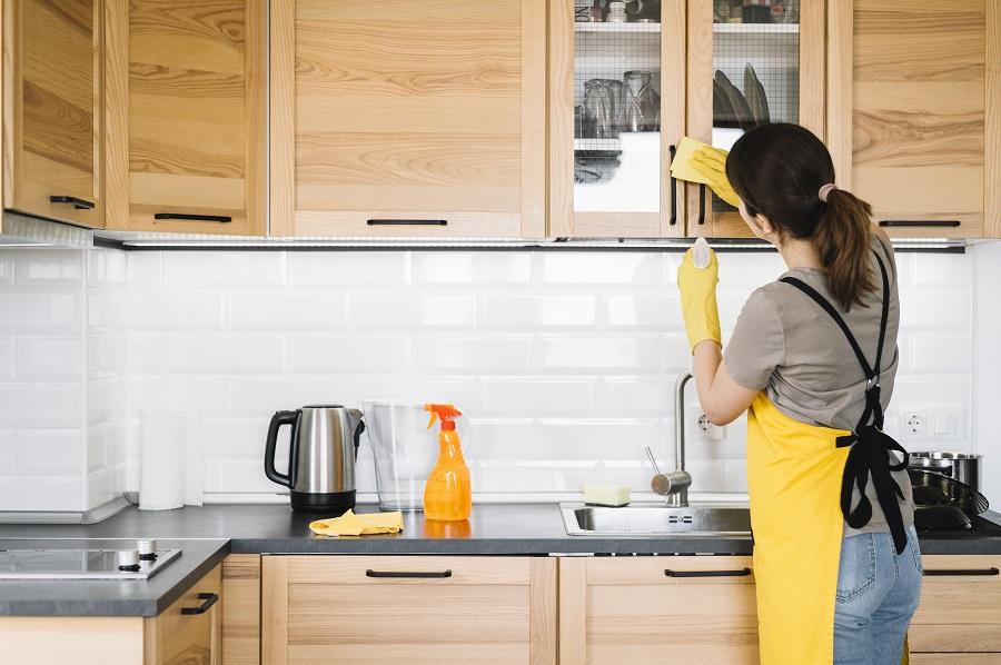 Mantén tu hogar limpio